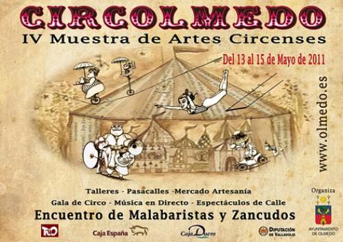 """""""Circolmedo"""", circo en Olmedo del 13 al 15 de mayo"""