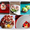 Recetas con Angry Birds para niños