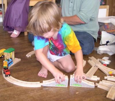 Juguetes de madera, una alternativa natural