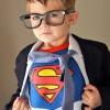 Un disfraz casero de Superman muy original