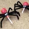 Cómo hacer arañas de Halloween de caramelo