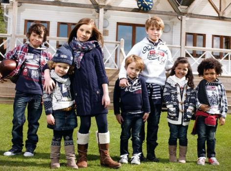 Mayoral, moda infantil invierno 2011-2012