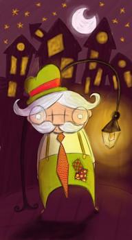 Cuento de El señor Rufino y la noche