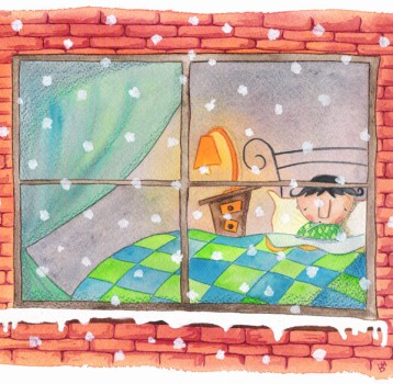 Cuento de Darío y la nieve