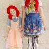 Cómo hacer un disfraz de muñeca