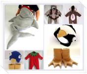 Disfraces de punto para bebés