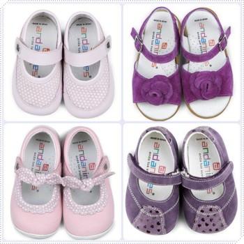 Zapatos para niña de Andanines