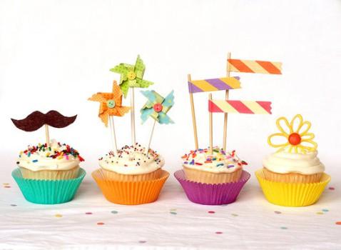 Cómo decorar cupcakes para una fiesta infantil
