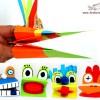 Marionetas de cartulina para manos
