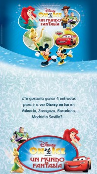 ¡Regalamos entradas para ver Disney on Ice!