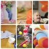 Juegos de cumpleaños con globos