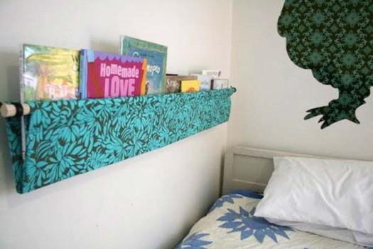 Una estantería infantil sin esquinas