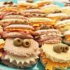 Divertidos sandwich de cumpleaños