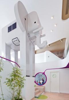 Restaurantes para niños: Diseño en Bucarest