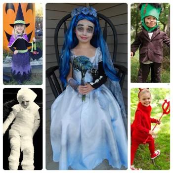 5 disfraces infantiles que dan miedo…