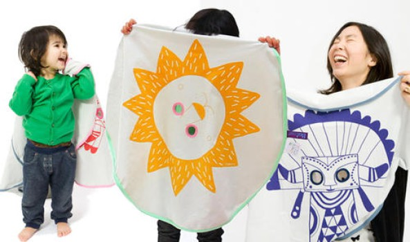 Una manta para niños muy juguetona