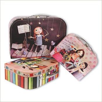 Maletines de cartón para niños