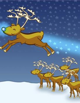"""Cuento de Navidad: """"El reno Moritz y su extraña nariz"""""""