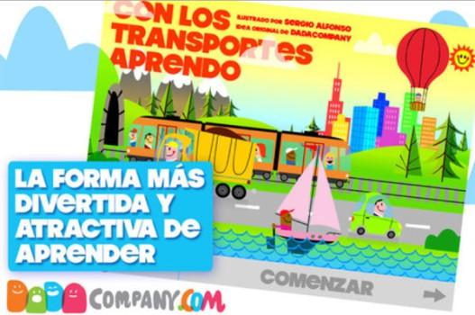 Con los transportes aprendo: app educativa infantil