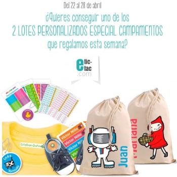 ¡Gana un pack personalizado Especial Campamentos!