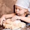 Cómo hacer pan fácil con los niños