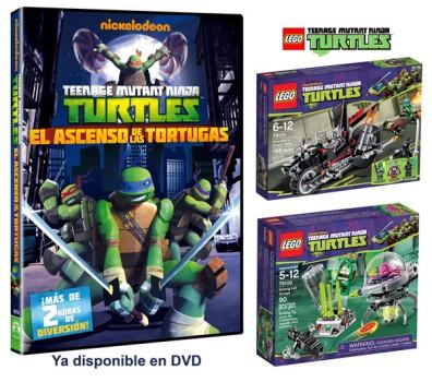 ¡Sorteamos 5 JUEGOS DE LEGO de Las Tortugas Ninja!