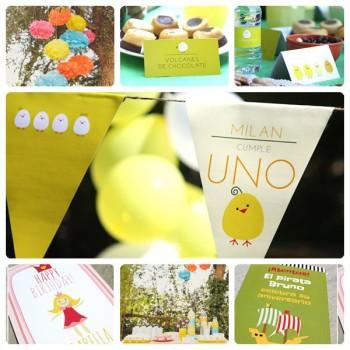 Organiza tu fiesta infantil personalizada en Comotinta