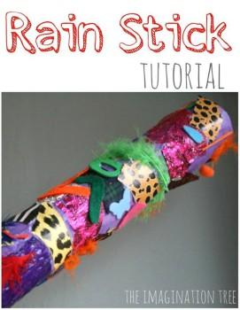 Cómo hacer un palo de lluvia casero