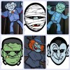 Máscaras y decoraciones de Halloween para imprimir gratis