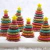 Recetas de Navidad: un árbol de galletas multicolor