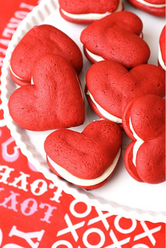 Un San Valentín muy dulce: Red Velvet Whoopies