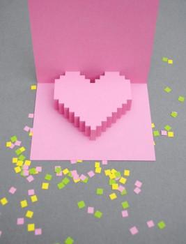 Una tarjeta para San Valentín muy original