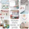 7 habitaciones infantiles decoradas con guirnaldas