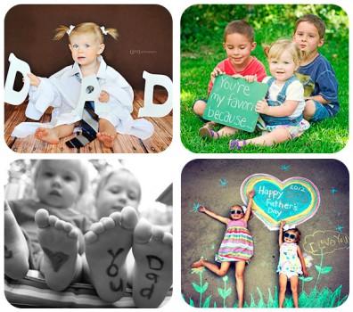 4 fotos divertidas para regalar en el Día del Padre