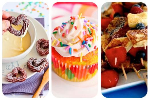 3 desayunos para el Día de la Madre