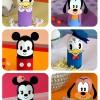 Huevos de Pascua decorados con Mickey Mouse y sus amigos