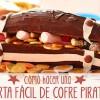 Cómo hacer una tarta pirata fácil