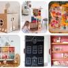 5 casas de muñecas caseras