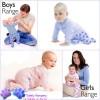 Crawlerz, ¡ropa para bebés que gatean!