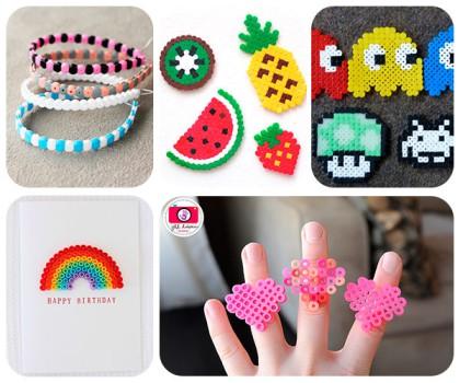 Manualidades infantiles con hama beads