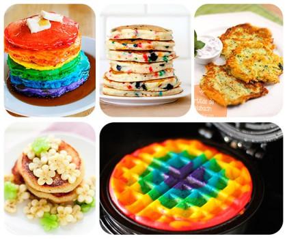 5 recetas de tortitas divertidas