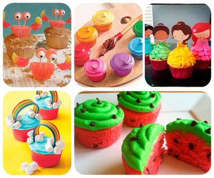 5 recetas de cupcakes fáciles y divertidos