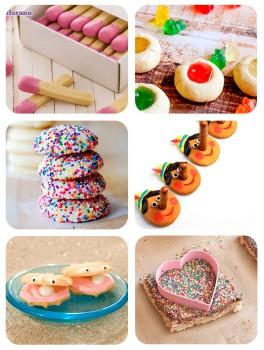 6 recetas de galletas divertidas