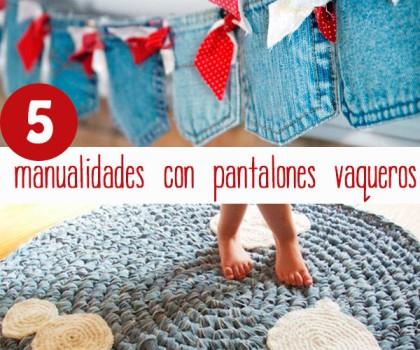 5 manualidades originales con pantalones vaqueros