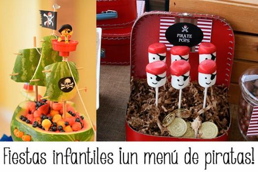 Fiestas infantiles: ¡un menú de piratas!