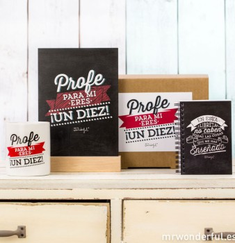 Gana un Kit Profe de Mr Wonderful, ¡regalamos 4!