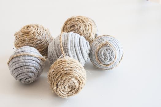 Adornos para decorar tu casa ¡con trapillo y cuerda!