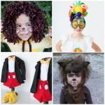 4 disfraces de Halloween caseros para niños