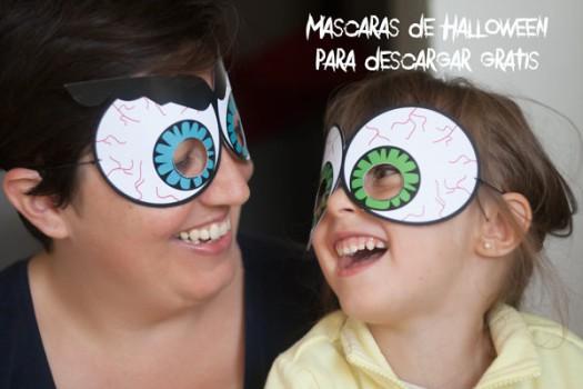 Máscaras de Halloween para descargar e imprimir gratis