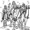 Dibujos de los Reyes Magos ¡para colorear!
